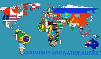 Χώρες και Εθνικότητες