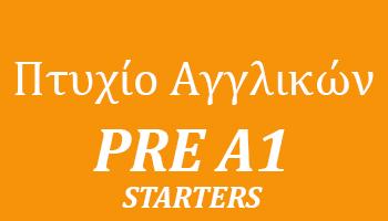 Pre A1 Starters