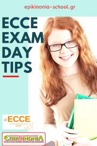 ECCE exam day tips